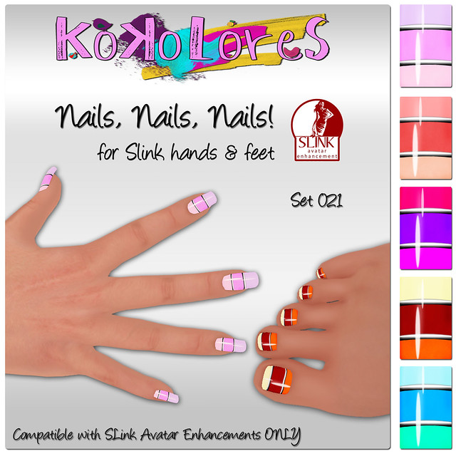 [KoKoLoReS] Nails, Nails, Nails! Set 021