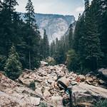Vernal-Nevada Falls, Yosemite NP