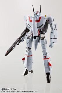 HI-METAL R 《超時空要塞》VF-1J 武神機 バルキリー (一条輝機)