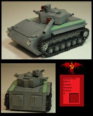 Warsaw Pact BMP-4 by кола☭