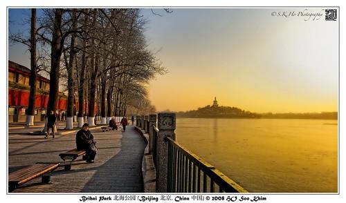 china travel sunset nikon beijing 北京 中国 beihaipark whitepagoda nationalgeographic 北海公园 白塔 d700 nikond700 攝影發燒友