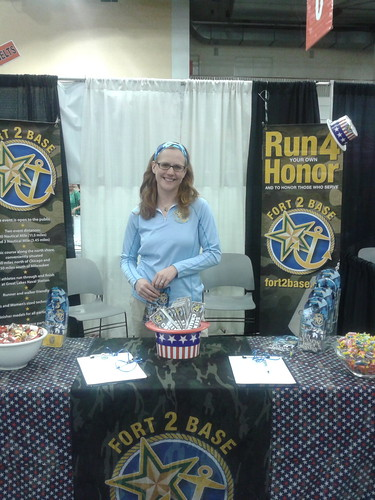 Shamrock Shuffle expo for Fort2Base