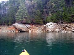 Approaching Large Rocks