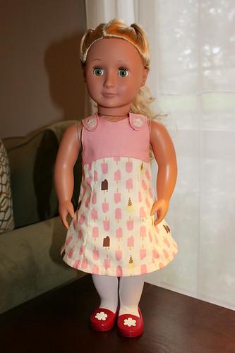 doll dress 2