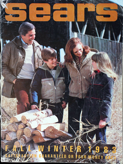 Sears Catalog Cover, Fall/Winter 1983