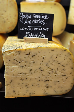 gouda with nettles