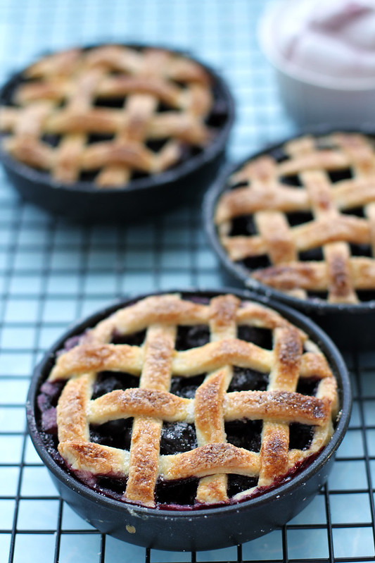Citron Blueberry Pie Recipe