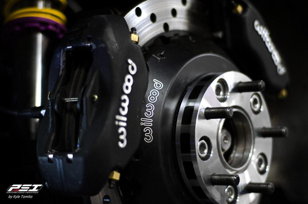 Wilwood Dual Brake Caliper Setup