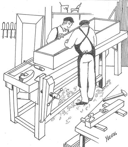Antzinakoak: carpinteros funerarios