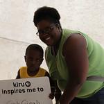 KLRU inspires me to... get giggly.