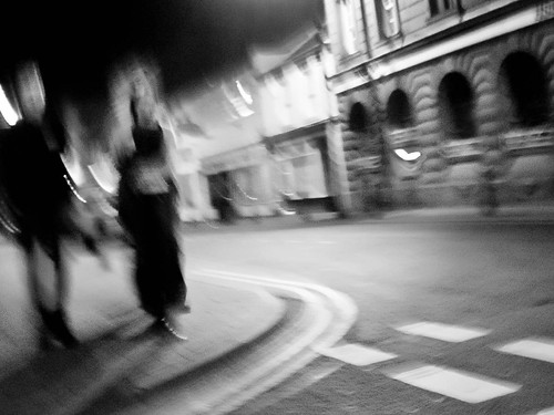 1000/762: 22 March 2012: Night-time Maryport by nmonckton