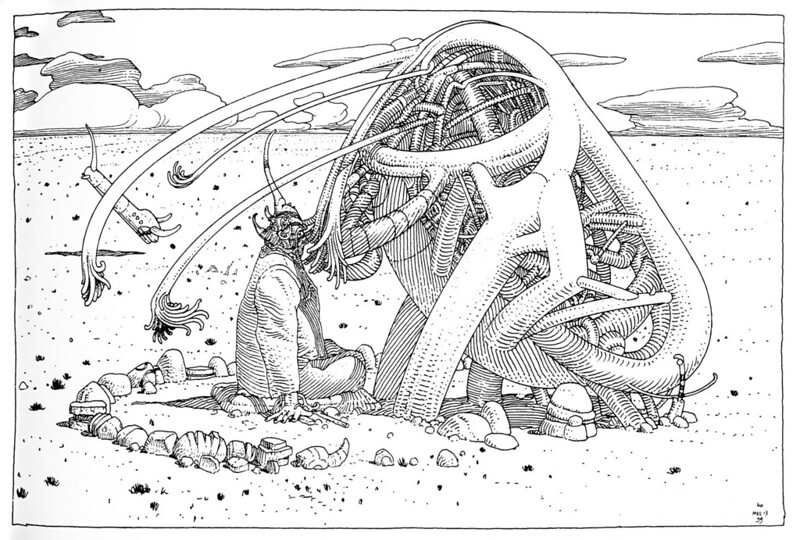Moebius - 40 Days in the Desert - 040
