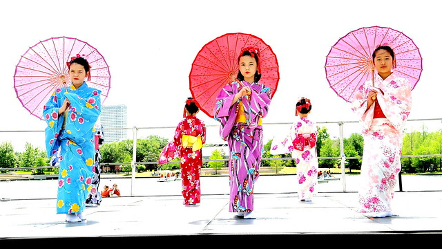 Little Japanese Dancers