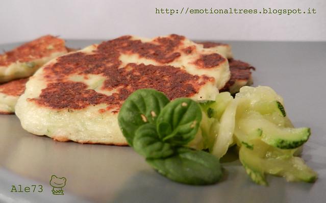 pancakes zucchine menta