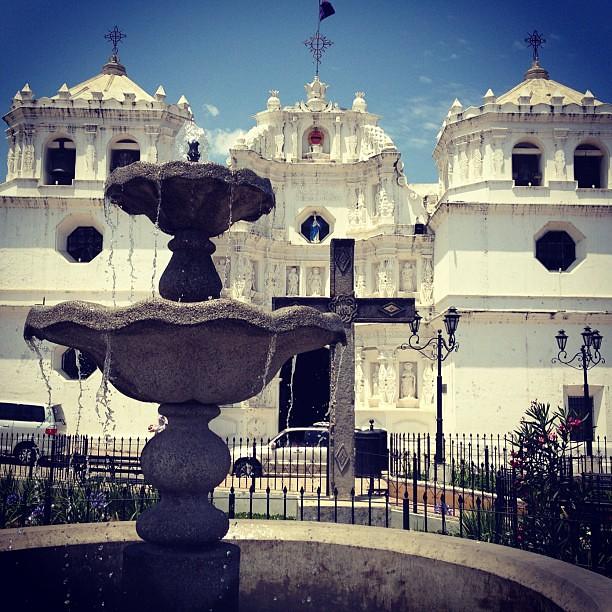Changing the topic, Ciudad Vieja's church, Guatemala
