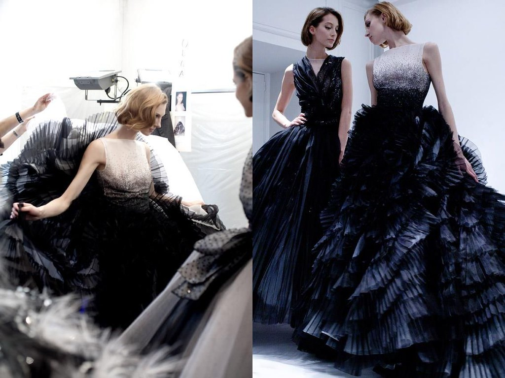 Maison Dior — Backstage — Spring/Summer 2012 Haute Couture