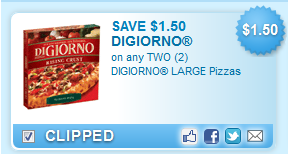 DiGiorno Large Pizzas  Coupon