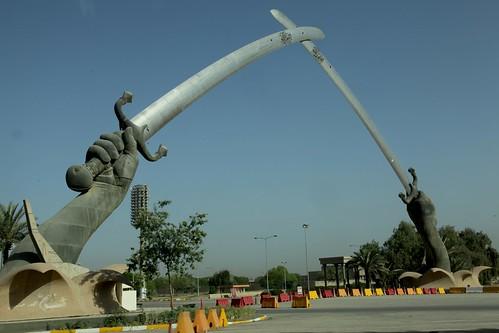 The Qadisiya Swords in Baghdad