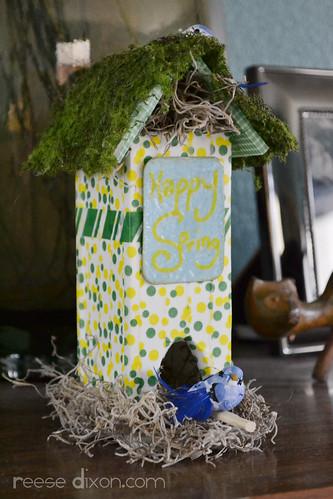 Spring Birdhouse Craft