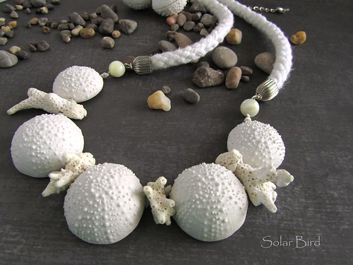 "Necklace ""On the seashore"""