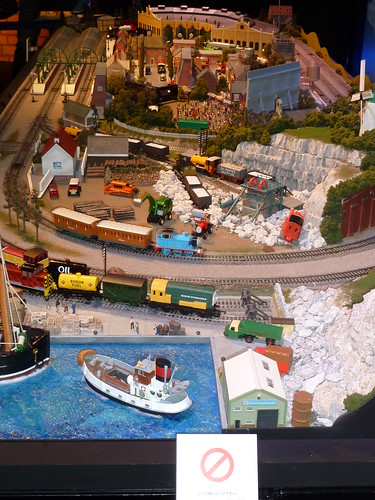THOMAS & FRIENDS in GINZA@ソニービル 8F ジオラマ
