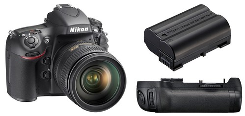 Nikon D800 / D800E, EN-EL15 and MB-D12 -- Battery Life