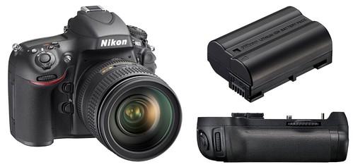 Nikon D800 / D800E, EN-EL15 and MB-D12 -- Battery Life