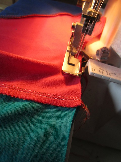 colourblock 7 side seams