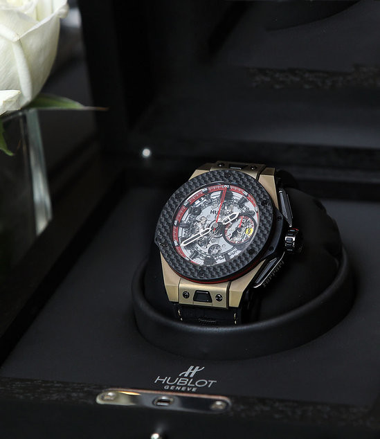 Hublot Ferrari Big Bang watch celebrates Ferrari's 20th anniversary in China