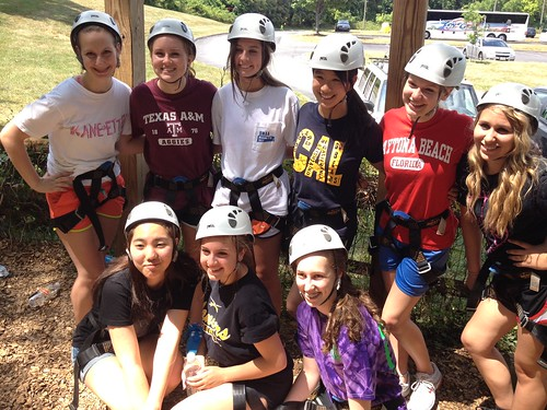 NSLC LAWA on the Ropes Course