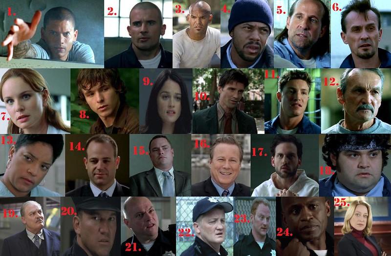 Prison Break characters