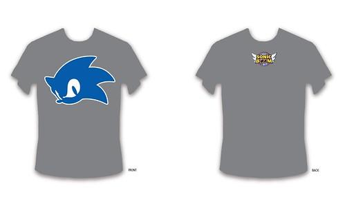 Sonic Boom Tshirt 2012