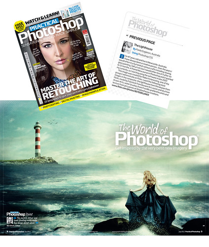 * Practical Photoshop Magazine Feature on Me!!!! *