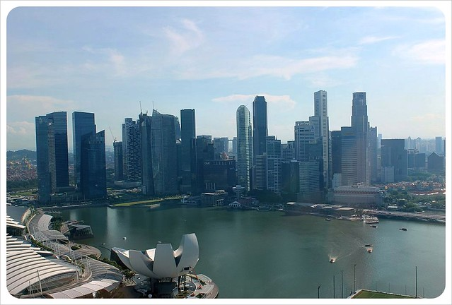 singapore flyer views