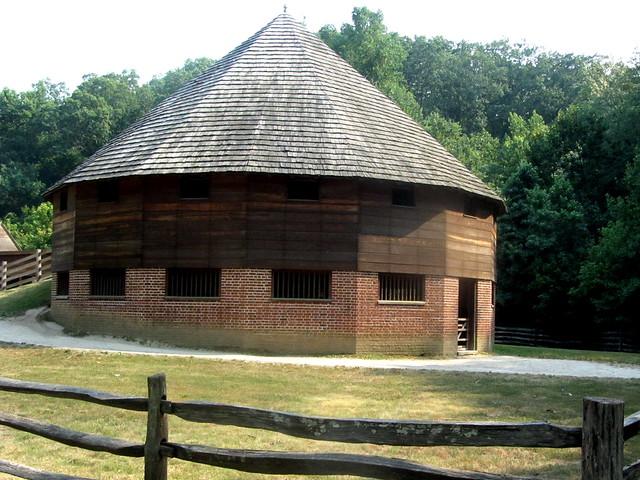 16 Sided Barn At Mount Vernon Flickr Photo Sharing