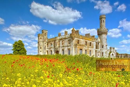 ireland castle eire emeraldisle irlanda ierland carlow duckettsgrove edwarddullardphotographykilkennyireland flickrstruereflection1