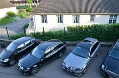 German car parking only
