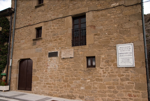 Birthplace of Santiago Ramon y Cajal-09185