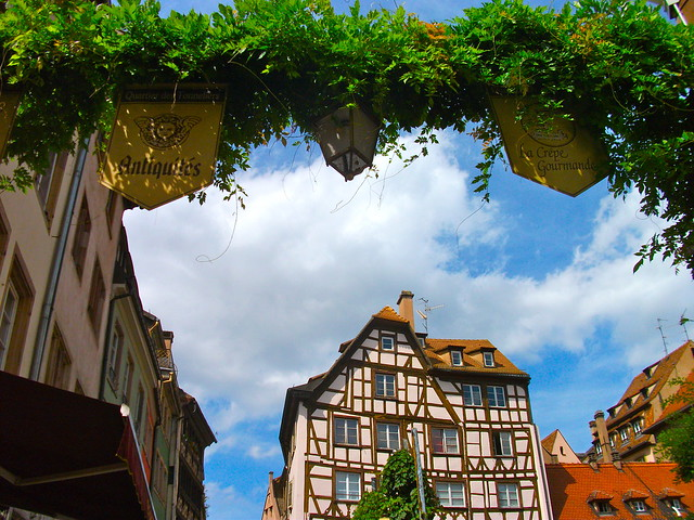 Architecture of Strasbourg, France