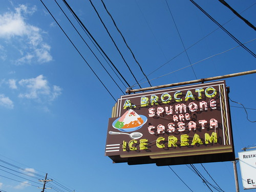Angelo Brocato's in New Orleans