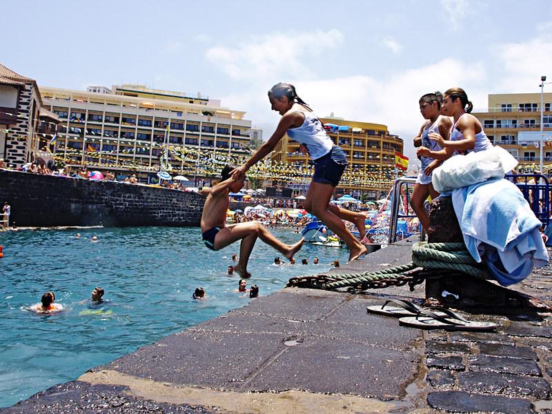 El Muelle at Fiestas del Carmen, Puerto de la Cruz, Tenerife