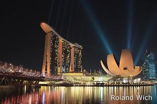 Singapore - Marina Bay Sands and ArtScience Museum