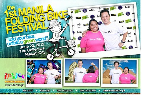 Manila Folding Bike Festival Photobooth