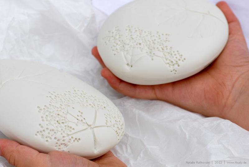 Pottery stones from Paula Valentim