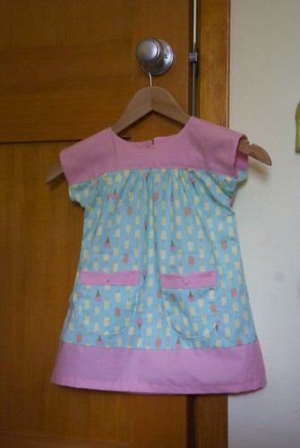 The (somewhat predictable) ice cream Ice Cream Dress
