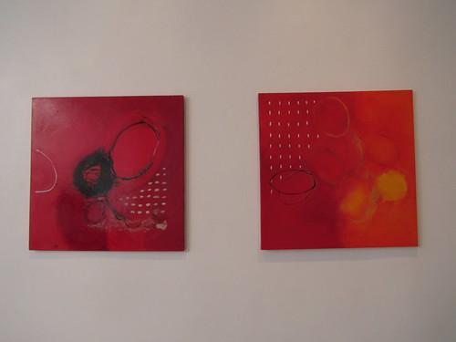 Anne Parmasto: Valged punasel I & II