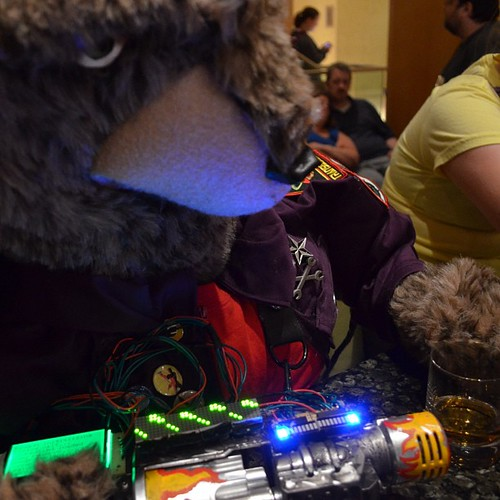 Chubbs Had A Great Time At DexCon