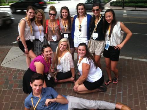NSLC LAWA Students Visit Historic Georgetown