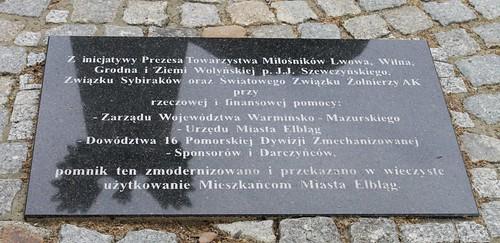 Pomnik Armii Krajowej w Elblągu by xpisto1