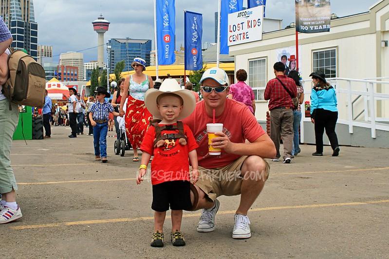 Braden's 1st Calgary Stampede 2012